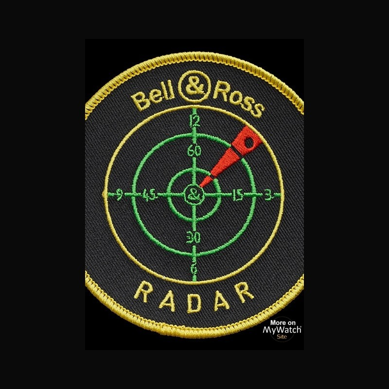 bell ross br 01 radar aviation br0192 radar acier microbill. Black Bedroom Furniture Sets. Home Design Ideas