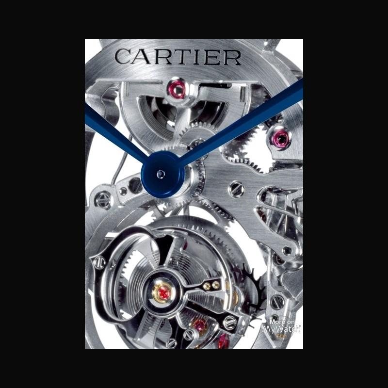 cartier rotonde de cartier tourbillon volant squelette collection haute horlogerie w1580031 or. Black Bedroom Furniture Sets. Home Design Ideas