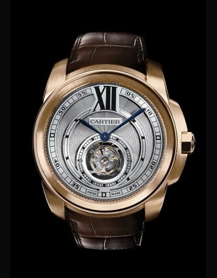 Calibre de Cartier tourbillon volant