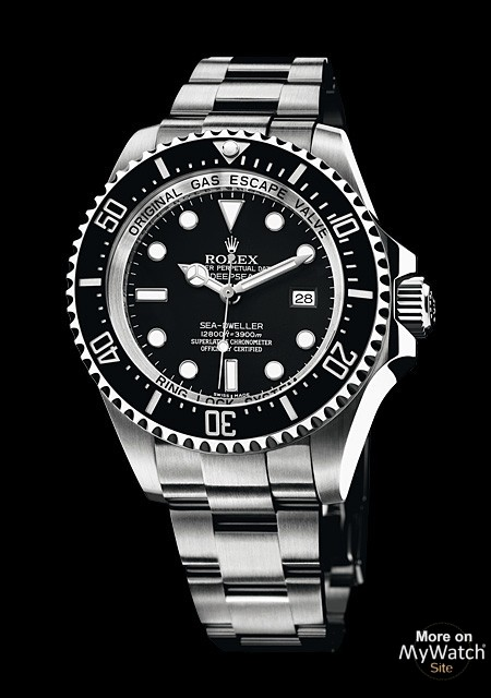 rolex deepsea oyster perpetual 116660 acier titane bracelet acier. Black Bedroom Furniture Sets. Home Design Ideas