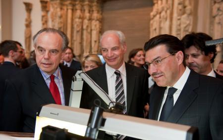 Frédéric Mitterrand, Alain Griset et Juan-Carlos Torres