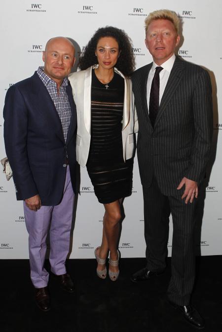 Georges Kern, Boris Becker et sa femme Lilly