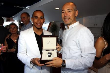Lewis Hamilton présente la pièce unique Monaco Mikrograph