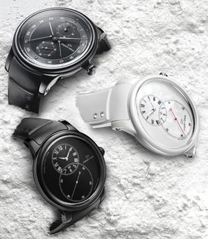 Un trio de charme : les montres Jaquet Droz en Céramique.