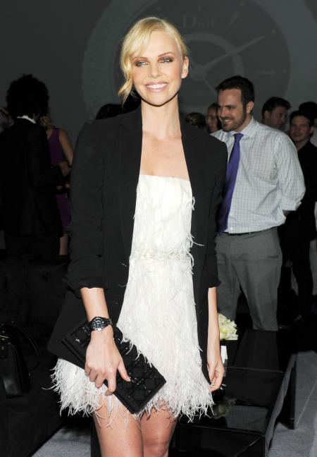 Charlize Theron, la superbe égérie de Dior.