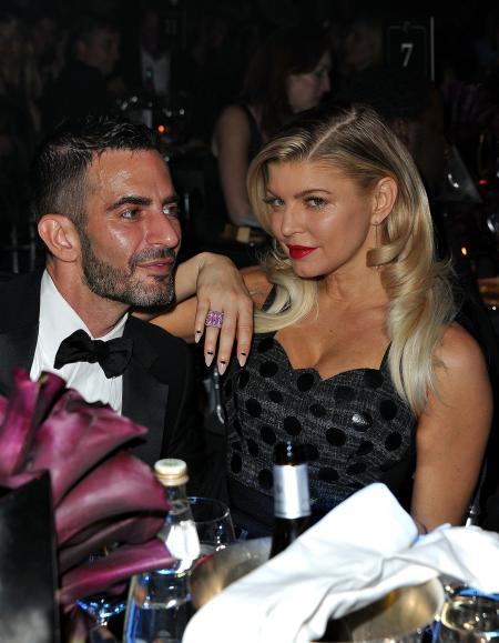 Fergie et Marc Jacobs lors du dîner.