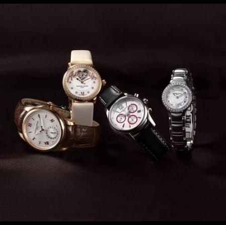 La Maxime Manufacture Automatique, la Love Heart Beat Vanille Exquise, la Junior Chronographe et la Junior Lady.