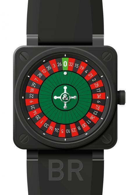 La BR01 CASINO Carbon exclusivement destinée aux Casinos de Monaco, Las Vegas et Macao, en éditions limitées.