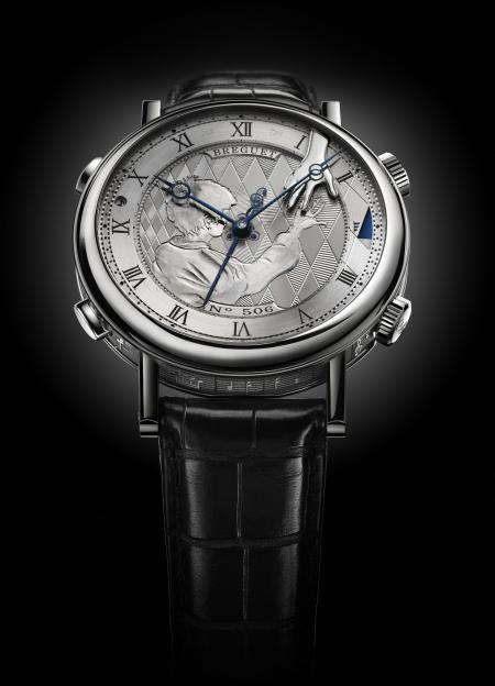 Le superbe garde-temps créé par Breguet pour Only Watch 2011 joue à la demande ou à une heure présélectionnée la mélodie
