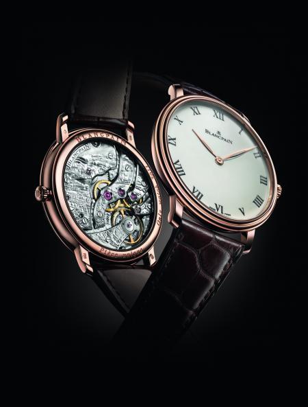 La Villeret Grande Décoration Edition spéciale - Only Watch 2011, née du travail des maîtres horlogers Blancpain et de la maître graveuse Marie-Laure Tarbouriech.