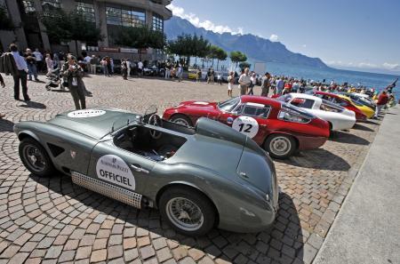 Une centaine d'équipages, au volant de GT et voitures de sport des années 30 à fin 70, sont inscrits pour le Gstaad Classic Audemars Piguet, du 31 août au 4 septembre 2011.