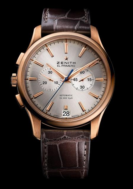 Zenith Captain Chronographe en or rose pour Only Watch 2011
