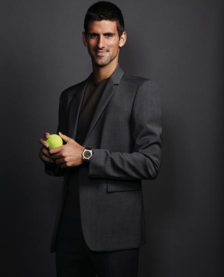 Un Champion de tennis dans l'équipe des ambassadeurs Audemars Piguet.