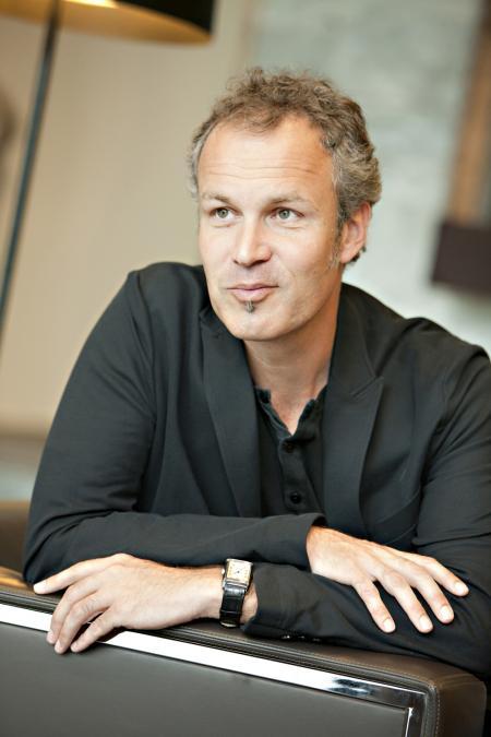 L'artiste Suisse, Zep, créateur de Titeuf.