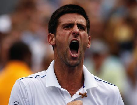 Le nouvel ambassadeur Audemars Piguet Novak Djokovic est vainqueur de l'US Open 2011.