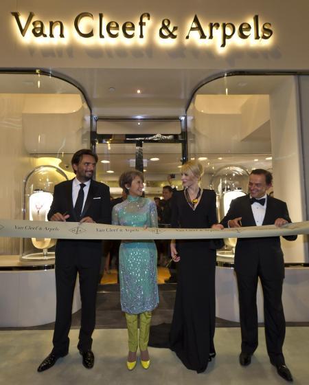 La Maison Van Cleef & Arpels de Hong Kong a été officiellement inaugurée le 16 septembre.©Van Cleef & Arpels