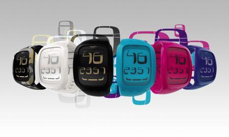 La collection Swatch Touch 2011 : des montres ergonomiques, dotées d'un cadran grand écran LCD avec une zone tactile permettant de passer facilement d'une fonction à une autre en tapotant du bout des doigts.