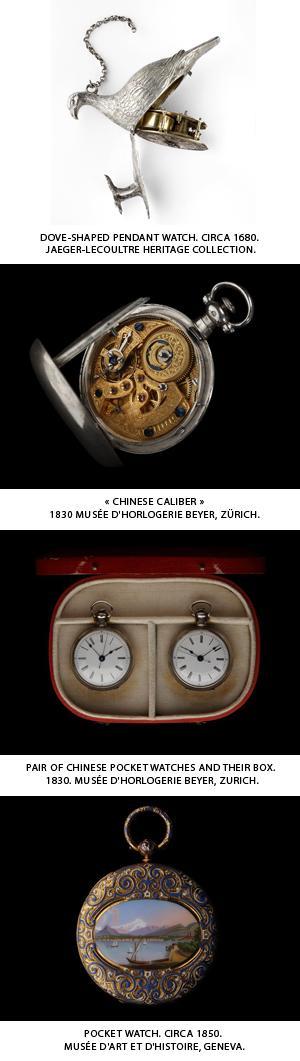 Shanghai World Expo 2010 : L'art horloger suisse des origines à nos jours
