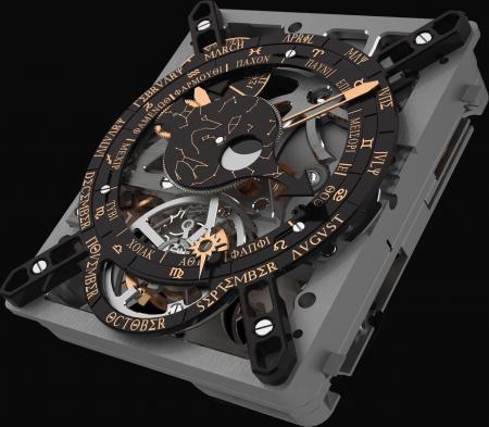 Le Calibre Hublot Anticythère 2033-CH01 : une merveille de technicité inspirée par un mécanisme datant de l'Antiquité.