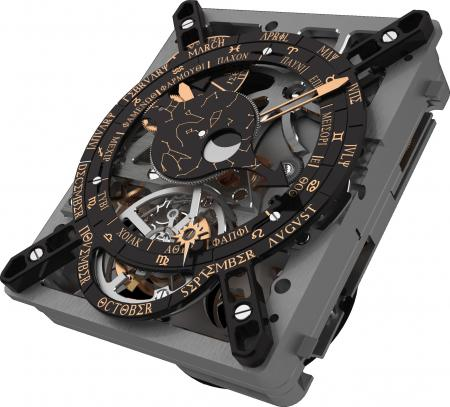 Le Calibre Hublot Anticythère 2033-CH01 équipera une montre qui sera présentée au salon horloger de Bâle de 2012.