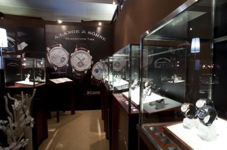 Le stand A.Lange & Söhne au Salon Les Montres.