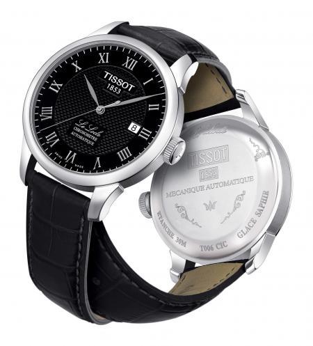La montre 'Le Locle' de Tissot gagante de la catégorie