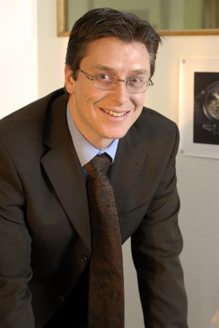 Patrick Kury, CEO par intérim d'Eterna et de Porsche Design Timepieces.
