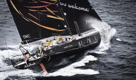Monocoque de l'équipe Abu Dhabi Ocean Racing.©Ainhoa Sanchez