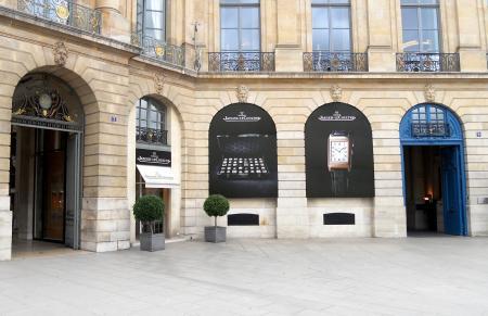 La boutique Jaeger-LeCoultre de la Place Vendôme dévoilera en 2012 un nouveau visage…
