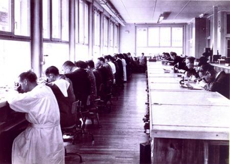 Atelier Ebel à La Chaux-de-Fonds. Photo d'archives.
