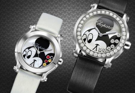Collection Happy Mickey - Montres en acier de 30 mm et 36 mm de diamètre - Mouvement quartz.