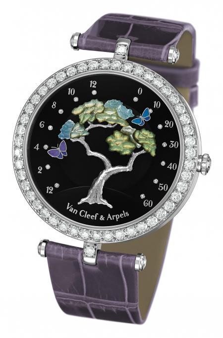 La montre Butterfly Symphony de Van Cleef & Arpels a obtenu le prix de la Montre Dame du Grand Prix du Public 2011 de Genève.