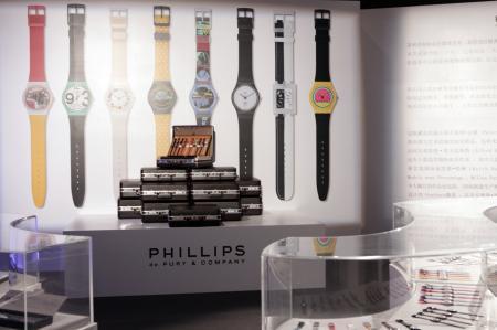 La collection Blum composée de 4 363 articles Swatch a battu tous les reccords lors de sa vente aux enchères à Hong Kong.