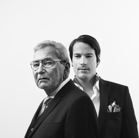 M. Roger Dubuis et M. Gregory Bruttin - Nicolas Guerin, Paris © ROGER DUBUIS 2011