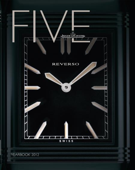 Couverture du YEARBOOK FIVE de Jaeger-LeCoultre.