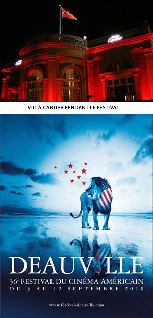 Cartier partenaire du Festival du Cinéma Américain de Deauville