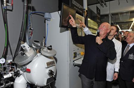 Jean-Claude Biver, CEO de Hublot, présente l'art de la fusion.