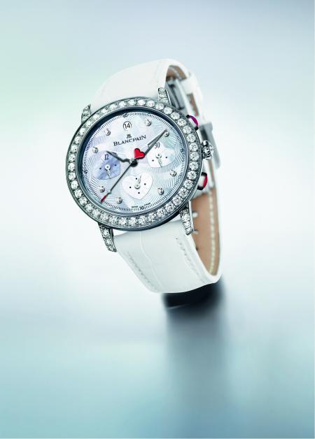 Le Chronographe Saint-Valentin 2012 de Blancpain : un cadeau venant du coeur.