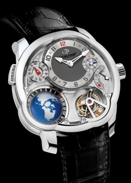 Greubel Forsey GMT - Or gris