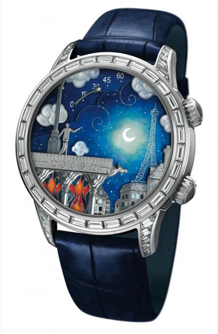 Van Cleef & Arpels - Montre Midnight Poetic Wish