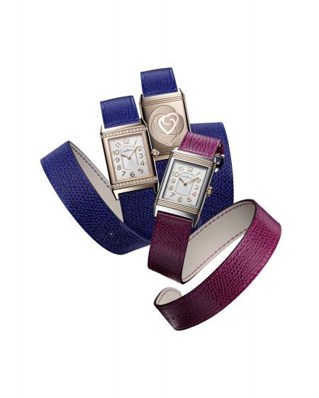 Une Grande Reverso Lady Ultra Thin sertie de diamants ou non, sur un bracelet créé par la Maison Valextra pour la Saint Valentin ?