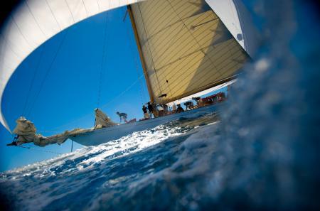 L'Eilean sera à Antigua pour la première étape du Panerai Classic Yachts Challenge 2012.