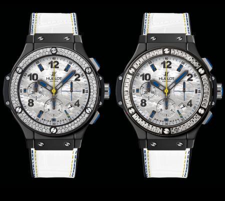 Hublot - Edition amfAR 2012 - Version avec diamants ronds éditée à 100 ex. et version avec diamants baguette (édition non limitée)