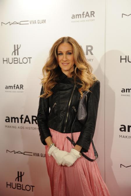 Sarah Jessica Parker lors du Gala amfAR à New York le 8 février.