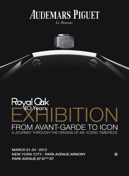 L'affiche de l'exposition Royal Oak 40 Years - From Avant-Garde to Icon.