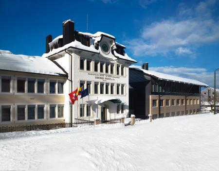 La manufacture Audemars Piguet, dans le village du Brassus, dans la Vallée de Joux.
