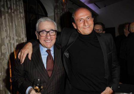 Martin Scorsese et Richard Mille lors de la soirée organisée avec Vanity Fair pour le réalisateur et The Film Foundation. © Donato Sardella