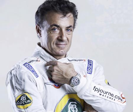 Jean Alesi avec le Centigraphe Sport de F.P. Journe seront à Indianapolis 500.