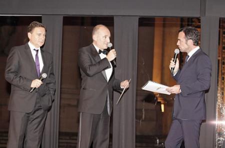 Christophe Moulin officiait en qualité de Maître de la Cérémonie de remise de prix.