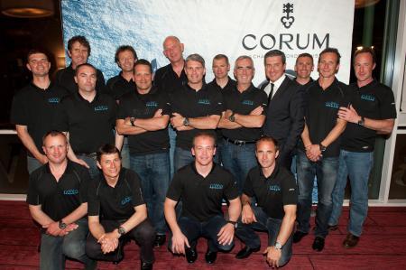 Corum récompense les nouveaux détenteurs du Trophée Jules Verne